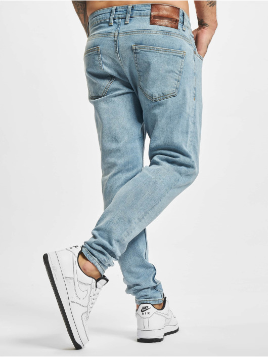 2Y Premium Slim Fit Jeans Wenko modrý