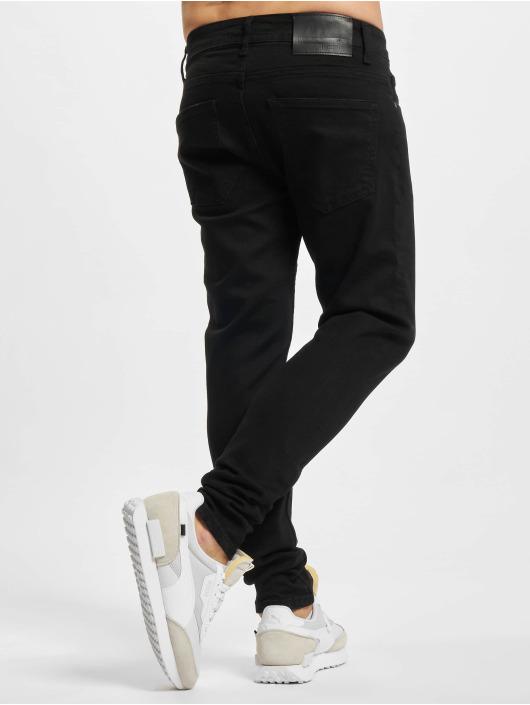 2Y Premium Slim Fit Jeans Puya sort