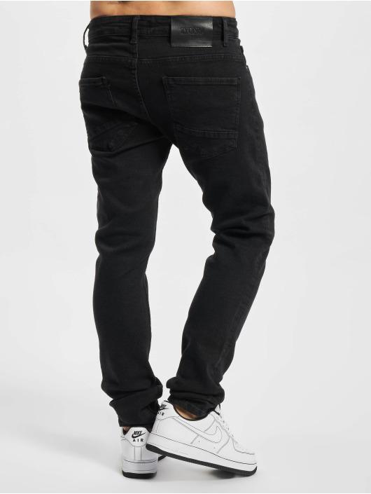 2Y Premium Slim Fit Jeans Premium svart