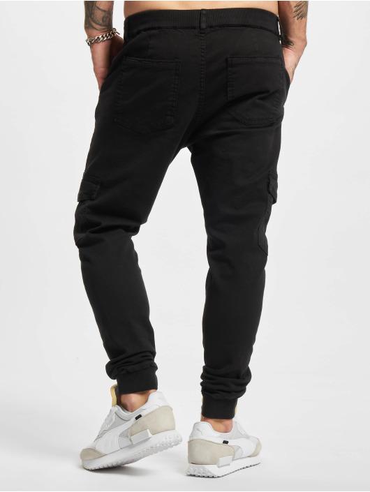 2Y Premium Spodnie Chino/Cargo Aramis czarny