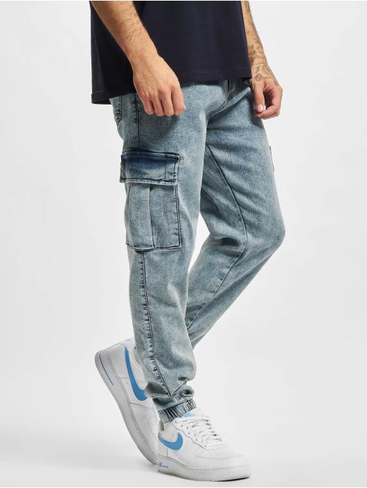 2Y Premium Spodnie Chino/Cargo Premium niebieski