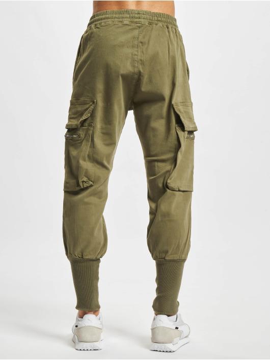 2Y Premium Spodnie Chino/Cargo Devran oliwkowy