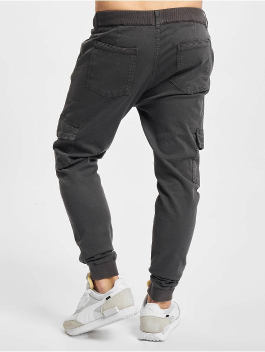 2Y Premium Spodnie Chino/Cargo Aramis szary
