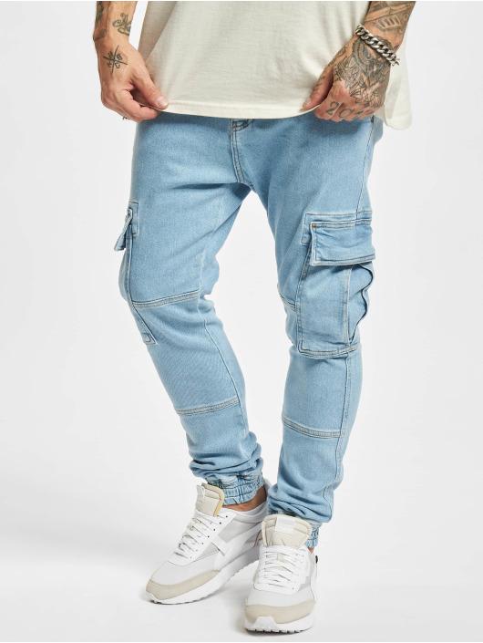 2Y Premium Straight Fit farkut Yunus sininen