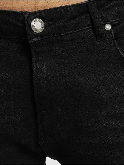 2Y Premium Straight Fit Jeans Premium čern
