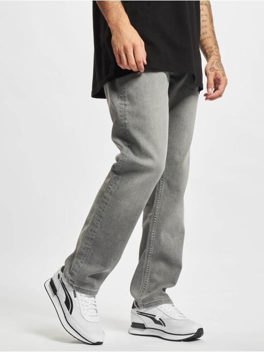 2Y Premium Straight Fit Jeans Mert šedá