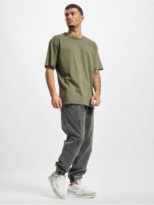 2Y Premium Straight Fit Jeans Denim šedá