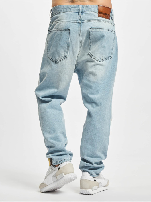 2Y Premium Straight Fit Jeans Hakan blå