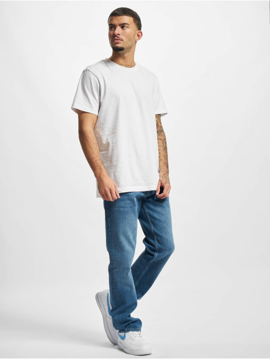 2Y Premium Straight Fit Jeans Cem blå