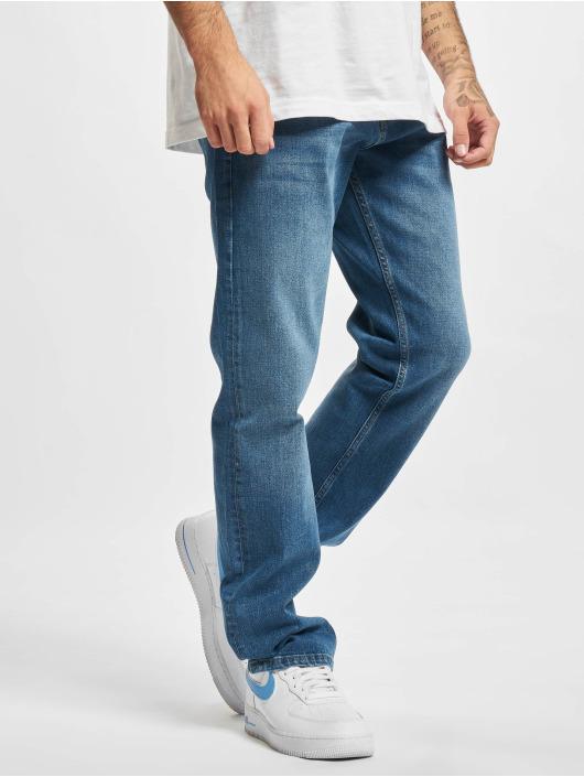 2Y Premium Straight Fit Jeans Cem blau