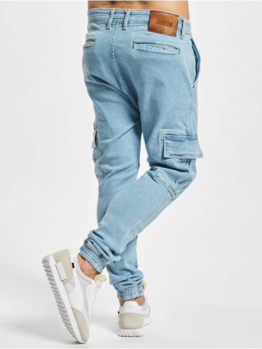 2Y Premium Straight Fit Jeans Yunus modrý