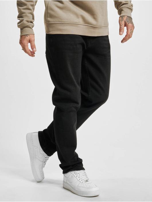 2Y Premium Straight Fit Jeans Premium svart