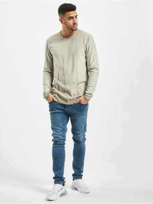 2Y Pullover Beech beige