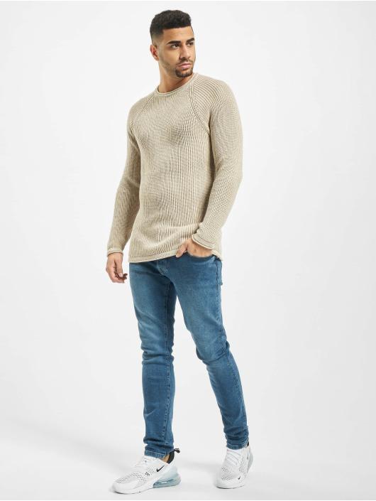 2Y Pullover Branch beige