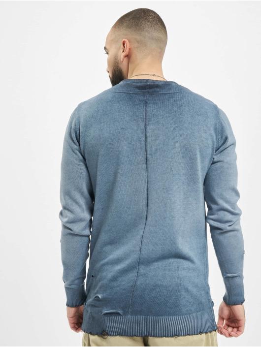 2Y Pullover Bryan blau