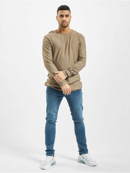 2Y Pullover Maple braun