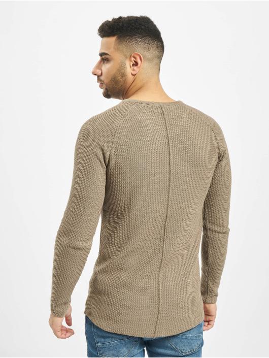 2Y Pullover Birch braun
