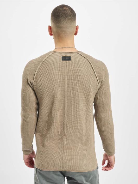 2Y Pullover Kylian braun