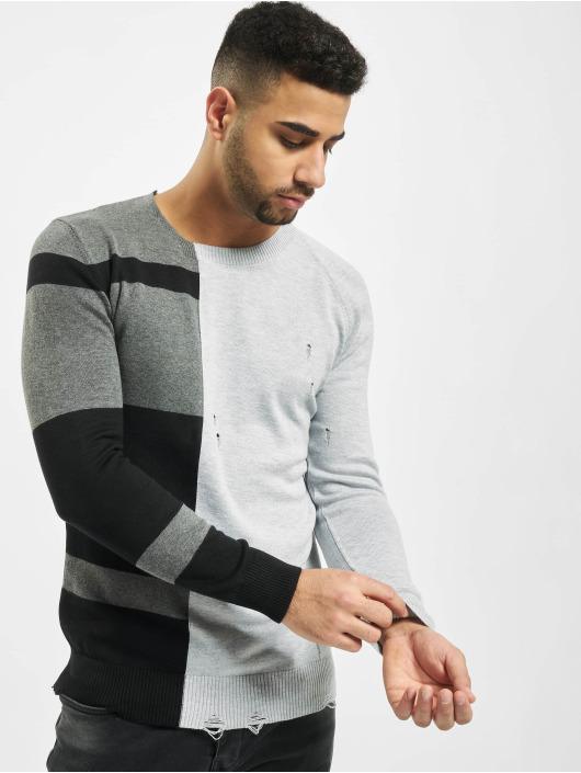 2Y Pullover Poplar grau