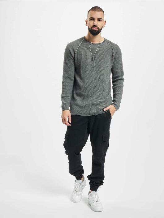 2Y Pullover Kylian grau