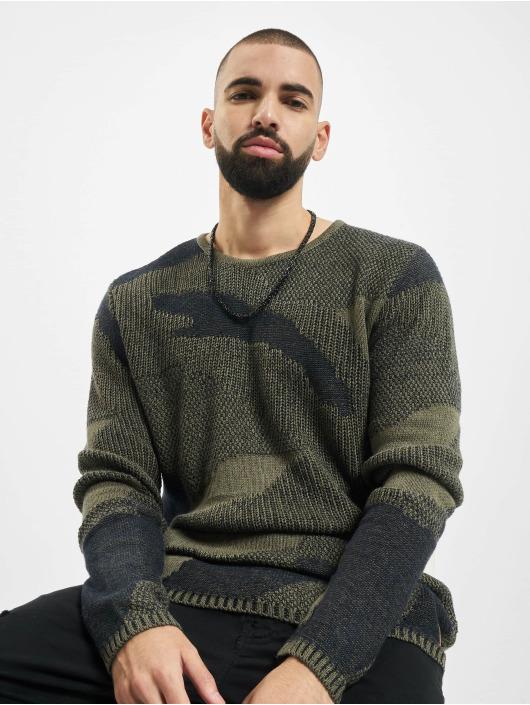 2Y Pullover Camo khaki