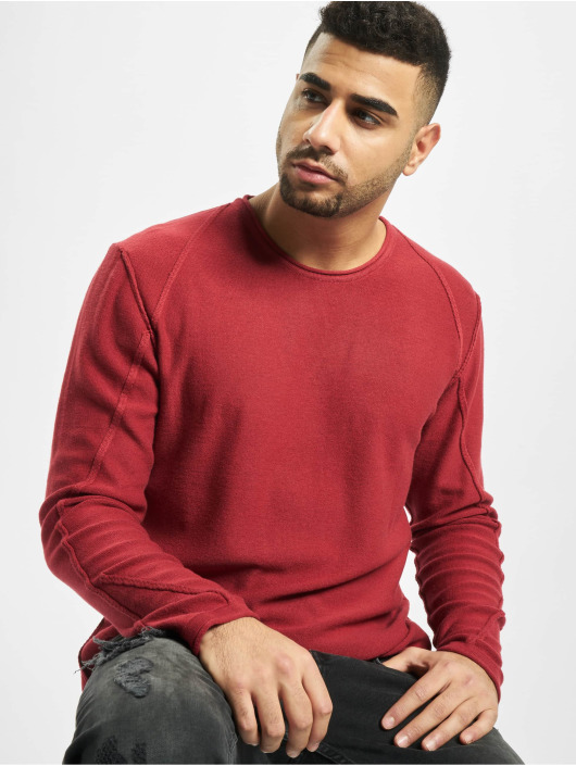 2Y Pullover Maple Knit red