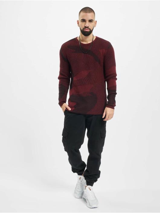 2Y Pullover Camo rot
