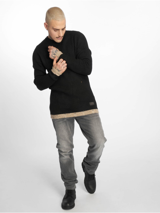 2Y Pullover Harvey schwarz