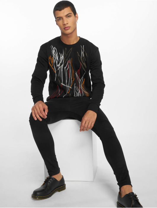 2Y Pullover Sparky schwarz