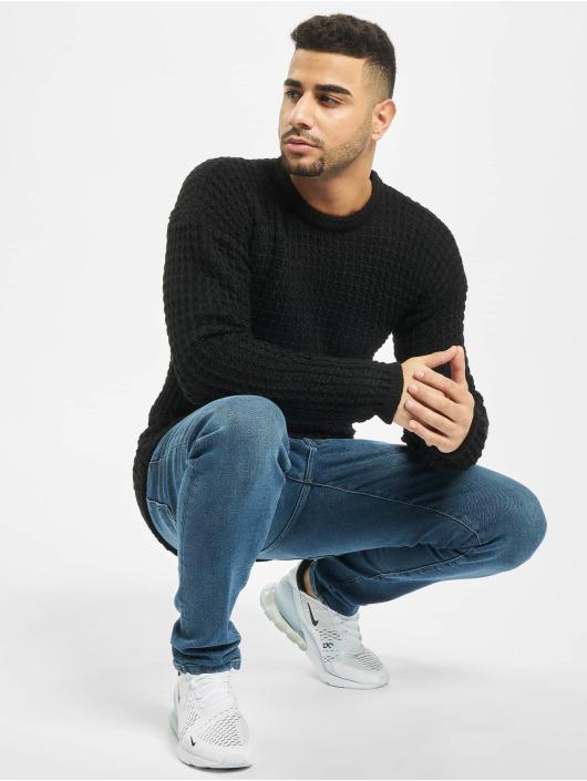 2Y Pullover Twig schwarz