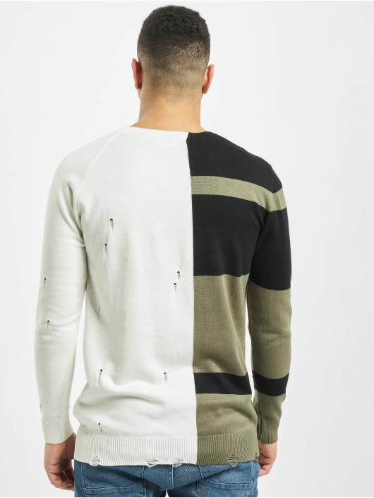 2Y Pullover Poplar weiß