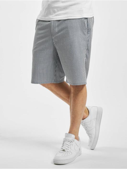 2Y Shortsit Striped sininen