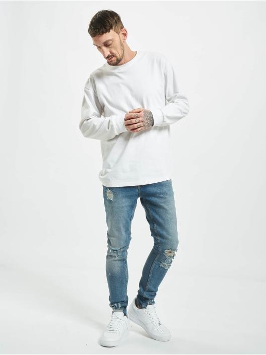 2Y Skinny Jeans Gunesh blå
