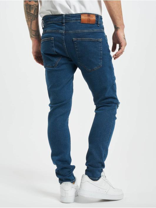 2Y Skinny Jeans Peter blå