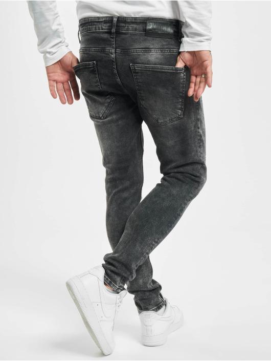 2Y Skinny Jeans Redo black