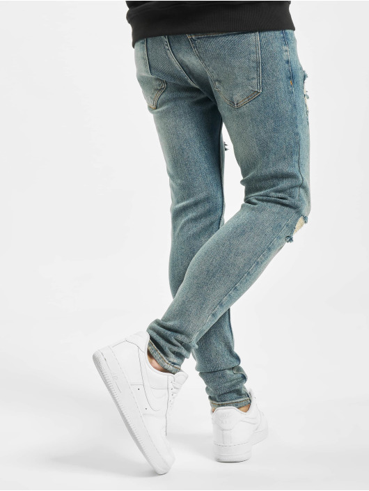 2Y Skinny Jeans Alaz blau