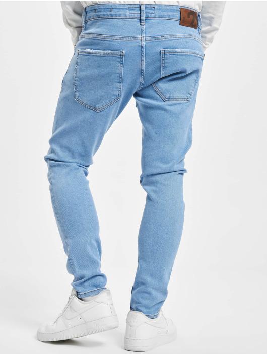 2Y Skinny Jeans Wayne blau