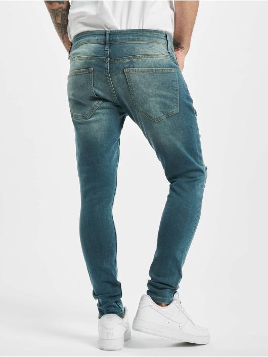 2Y Skinny Jeans Olaf blau