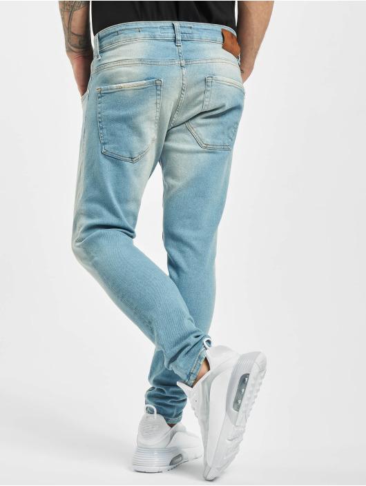 2Y Skinny Jeans Blake blau