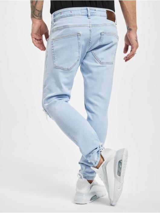 2Y Skinny Jeans Alex blau