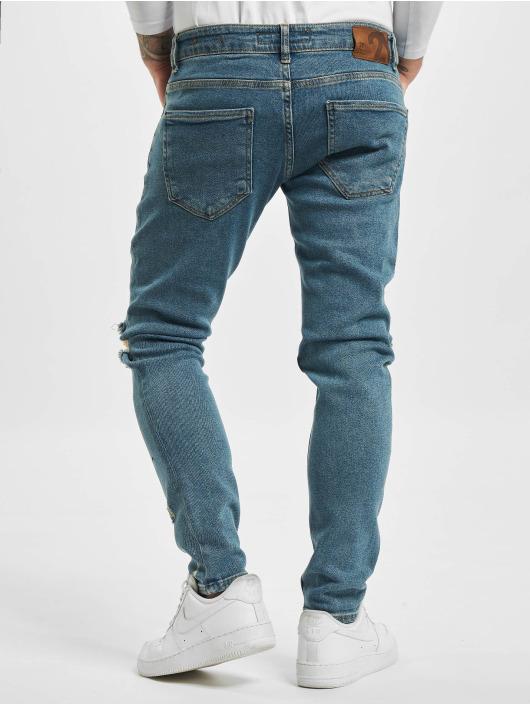 2Y Skinny Jeans Miro blau