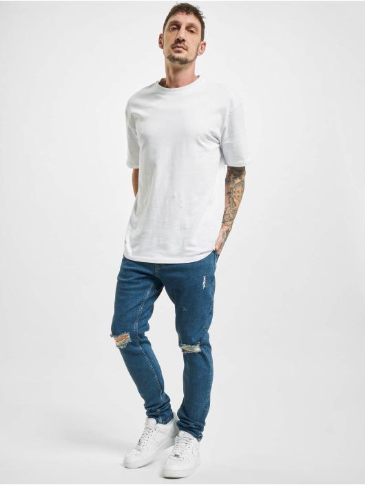 2Y Skinny Jeans Irvine blau