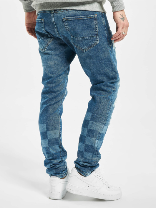 2Y Skinny jeans Levin blauw