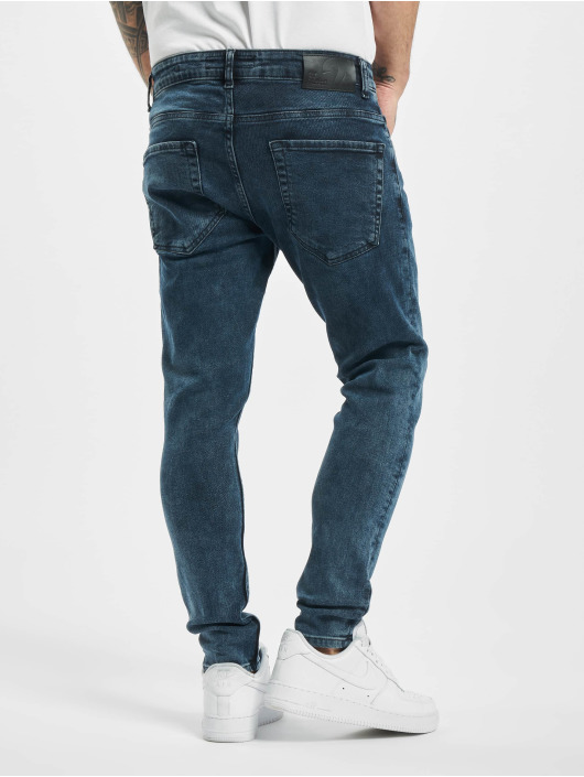 2Y Skinny jeans Andy blauw