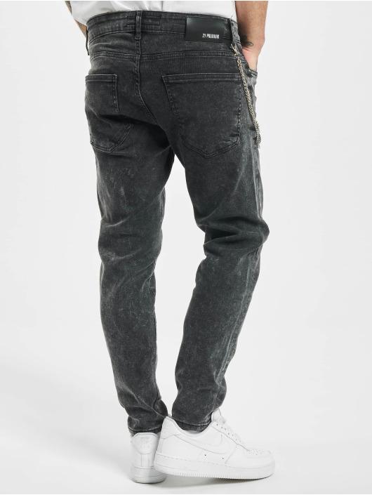 2Y Skinny Jeans Joshua grau