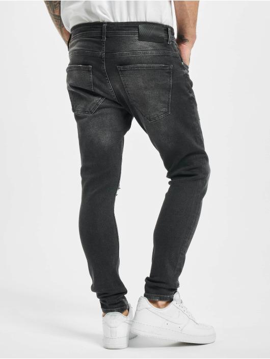 2Y Skinny Jeans Steve grau