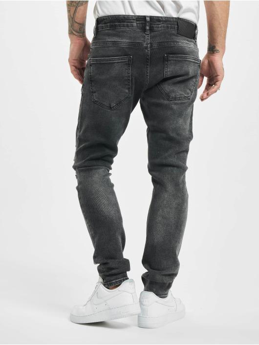 2Y Skinny Jeans Ken grau