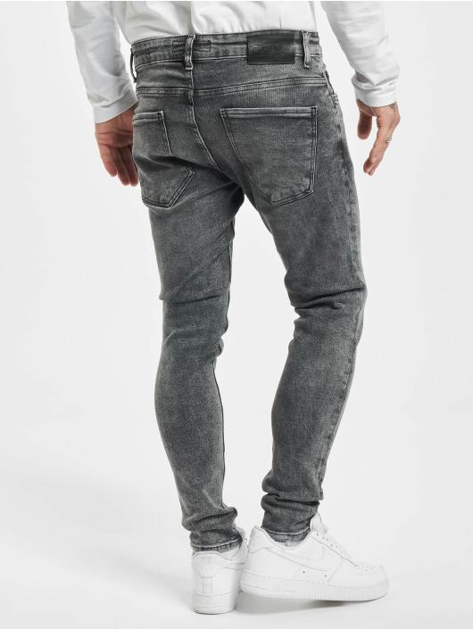 2Y Skinny Jeans Kevin grey