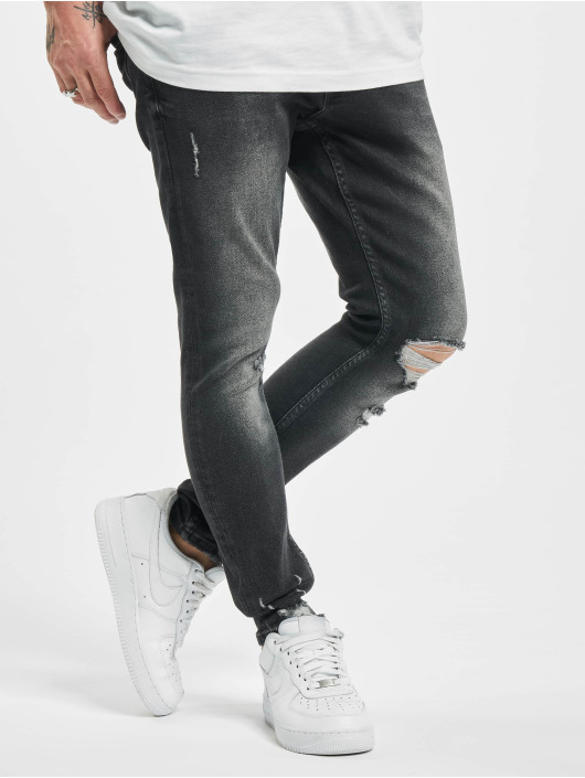 2Y Skinny jeans Steve grijs