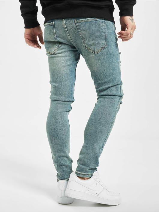 2Y Skinny Jeans Umit modrý